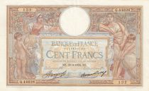 France 100 Francs Luc Olivier Merson - Grands Cartouches - 29-03-1934 Série Q.44628