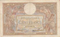 France 100 Francs Luc Olivier Merson - Modifié - 14-09-1939 - Série D.67507 - TTB