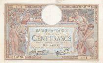 France 100 Francs Luc Olivier Merson - Modifié - 21-10-1937 Série N.55762