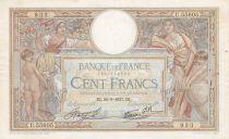 France 100 Francs Luc Olivier Merson - Modifié - 30-09-1937 Série U.55605