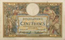 France 100 Francs Luc Olivier Merson - sans LOM - 02-06-1909 Série P.860 - TB