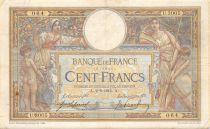 France 100 Francs Luc Olivier Merson - sans LOM - 02-09-1915 Série U.3005 - TB+