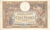 France 100 Francs Luc Olivier Merson - sans LOM - 03-03-1917 Série M.3912 - TTB