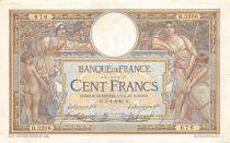 France 100 Francs Luc Olivier Merson - sans LOM - 05-01-1916 Série B.3206 - TTB+