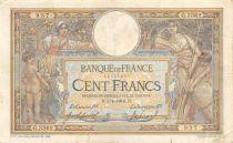 France 100 Francs Luc Olivier Merson - sans LOM - 05-04-1916 Série G.3362 - TB+