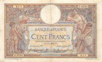 France 100 Francs Luc Olivier Merson - sans LOM - 05-07-1918 Série D.4848 - TTB