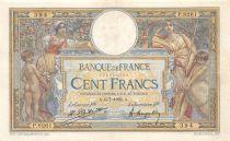 France 100 Francs Luc Olivier Merson - sans LOM - 06-07-1922 Série P.8261 - TTB