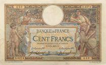 France 100 Francs Luc Olivier Merson - sans LOM - 09-09-1919 Série D.6274 - TTB