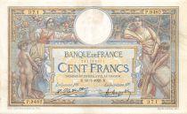 France 100 Francs Luc Olivier Merson - sans LOM - 10-07-1923 Série P.9482 - TTB