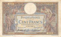 France 100 Francs Luc Olivier Merson - sans LOM - 12-01-1920 Série N.6689 - TTB