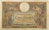 France 100 Francs Luc Olivier Merson - sans LOM - 12-03-1920 Série S.6899 - F+