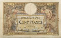 France 100 Francs Luc Olivier Merson - sans LOM - 13-08-1912 Série U.1593 - TB