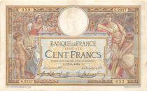 France 100 Francs Luc Olivier Merson - sans LOM - 15-05-1914 Série S.2227 - TTB