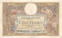 France 100 Francs Luc Olivier Merson - sans LOM - 15-05-1915 Série G.2823 - TTB