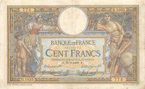 France 100 Francs Luc Olivier Merson - sans LOM - 15-09-1909 Série R.1035 - TB+