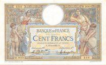 France 100 Francs Luc Olivier Merson - sans LOM - 16-02-1923 Série W.9004 - TTB