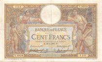 France 100 Francs Luc Olivier Merson - sans LOM - 16-03-1917 Série Y.3934 - TTB