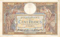 France 100 Francs Luc Olivier Merson - sans LOM - 16-03-1921 Série N.7412 - TTB