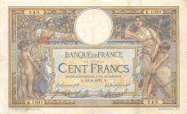 France 100 Francs Luc Olivier Merson - sans LOM - 16-08-1911 Série K.1391 - TTB