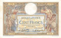 France 100 Francs Luc Olivier Merson - sans LOM - 16-12-1922 Série V.8799 - TTB