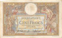 France 100 Francs Luc Olivier Merson - sans LOM - 17-02-1915 Série B.2678 - TB