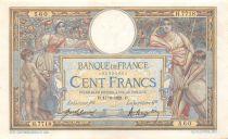France 100 Francs Luc Olivier Merson - sans LOM - 17-06-1921 Série H.7718 - TTB