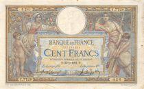 France 100 Francs Luc Olivier Merson - sans LOM - 20-06-1921 Série Y.7728 - PTTB