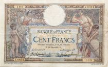 France 100 Francs Luc Olivier Merson - sans LOM - 20-12-1919 Série V.6624 - TTB