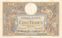 France 100 Francs Luc Olivier Merson - sans LOM - 21-01-1915 Série P.2631 - TTB