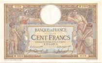 France 100 Francs Luc Olivier Merson - sans LOM - 21-02-1916 Série M.3894 - TTB+