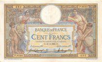 France 100 Francs Luc Olivier Merson - sans LOM - 21-09-1921 Série P.8040 - TTB