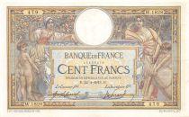 France 100 Francs Luc Olivier Merson - sans LOM - 22-04-1913 Série W.1828 - TTB+