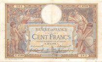 France 100 Francs Luc Olivier Merson - sans LOM - 22-04-1918 Série E.4599 - PTTB