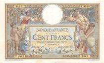 France 100 Francs Luc Olivier Merson - sans LOM - 22-09-1922 Série V.8313 - TTB