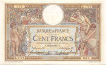 France 100 Francs Luc Olivier Merson - sans LOM - 22-12-1916 Série L.3793 - TTB