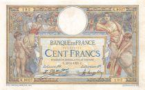France 100 Francs Luc Olivier Merson - sans LOM - 23-02-1923 Série K.9027 - TTB