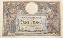 France 100 Francs Luc Olivier Merson - sans LOM - 23-09-1919 Série Y.6323 - TTB