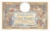 France 100 Francs Luc Olivier Merson - sans LOM - 23-09-1922 Série K.8519 - SUP