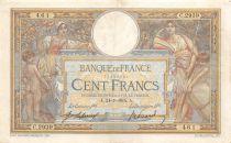 France 100 Francs Luc Olivier Merson - sans LOM - 24-07-1915 Série C.2939 - TTB