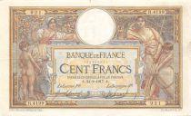France 100 Francs Luc Olivier Merson - sans LOM - 24-08-1917 Série R.4199 - TTB