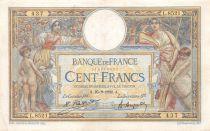 France 100 Francs Luc Olivier Merson - sans LOM - 25-09-1922 Série L.8521 - TTB
