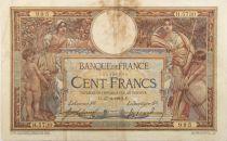 France 100 Francs Luc Olivier Merson - sans LOM - 27-03-1919 Série H.5730 - TB