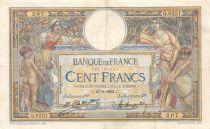 France 100 Francs Luc Olivier Merson - sans LOM - 27-06-1922 Série Q.3281 - TB+
