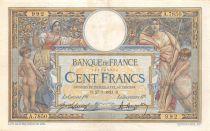 France 100 Francs Luc Olivier Merson - sans LOM - 27-07-1921 Série A.7850 - TTB