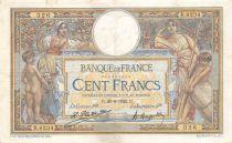 France 100 Francs Luc Olivier Merson - sans LOM - 28-06-1922 Série Q.8234 - TTB