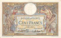 France 100 Francs Luc Olivier Merson - sans LOM - 29-07-1922 Série B.8335 - TTB
