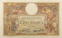 France 100 Francs Luc Olivier Merson - sans LOM - 30-03-1929 Série S.24650 - TTB