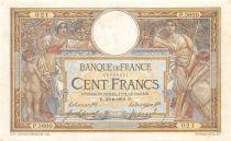 France 100 Francs Luc Olivier Merson - sans LOM - 30-08-1916 Série P.3600 - TTB