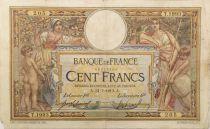 France 100 Francs Luc Olivier Merson - sans LOM - 31-07-1913 Série T.1993 - PTB