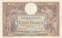 France 100 Francs Luc Olivier Merson - sans LOM - 31-10-1916 SérieE.3705 - TTB